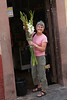 "Day Life and Night Life in San Miguel : Many morning breakfasts began at ""home"" with pastries foraged by Gary from Cumpanio.  Jack discovered Cafe Rama, where we had one of favorite breakfasts.  We had great lunches at El Ten Ten Pie, intimate Bistro LaCasita (4 tables, your choice of two entrees prepared while you watch), Food Factory at La Aurora, and Apolo XI for carnitas.  Our favorite evening meals were at the elegant The Restaurant (Salano 16), eclectic La Sirena Gorda (a Sally Gibson recommendation), Italian-Mexican Mi Vida, and our favorite, french-inspired Chamonix. If you love steak (which we do) you must dine at La Burger, in spite of its name. Certainly the best steaks in San Miguel, it is a unique and memorable dining experience.  Its a cab ride about 5 miles north of San Miguel just before  Atonotilco.   One of Margie's best friends from Vanderbilt, Sally Gibson, moved to San Miguel in 1989. We met her for dinner and twice for lunch.  She gave us some good insider tips and introduced us to the owners of Casa Glenville, who invited us to a party at their grand home.  One evening after dinner we walked into Benjamin Lara's bar and were entertained by Benjamin, a very talented guitar player and singer.  We spent another fun evening at the rooftop Luna Bar at the Rosewood Hotel. It offers a spectacular night views of the Parroquia and sunsets.  We wished we could have spent time at the bar at Hotel Matilda, but it was discovered too a late.  Jack, Kay, Prudy and Margie celebrated the Kites last night at Los Milagros.  How do you spell T-E-Q-U-I-L-L-A ?"