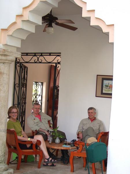 Kathy and David Visit
