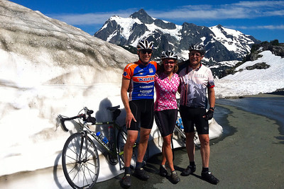 Mt Baker Bike Climb July 2013